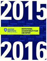 Institutional accountability plan and report 2015-2016