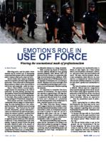 Emotion's role in use of force: wearing the unemotional  mask of professionalism