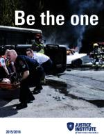 Be the one 2015/2016 [program guide]