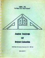 """1980-1985 """"a plan for the future"""""""