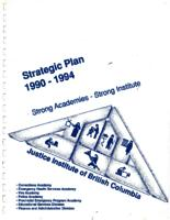 Strategic plan 1990-1994
