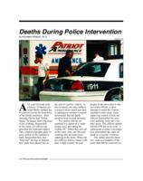 Deaths during police intervention